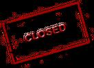 :closed:
