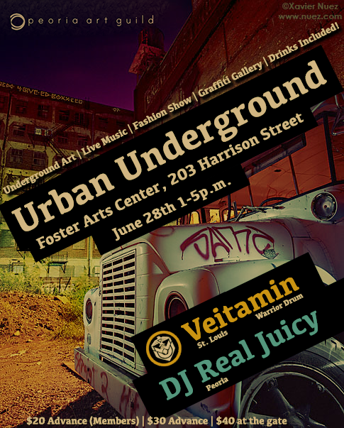 Urban Underground Promotional Flyer