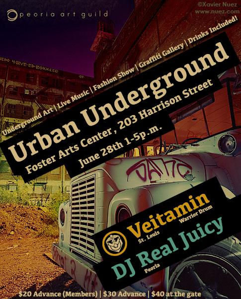 Urban Underground Promotional Flyer